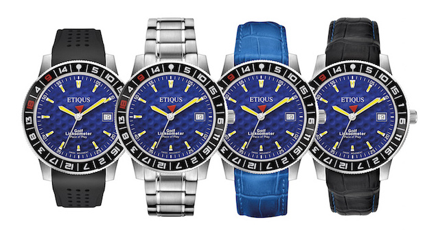 ETIQUS European Blue timepiece revealed