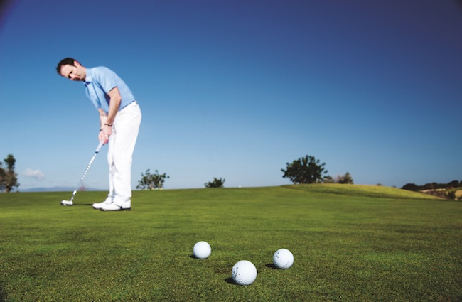 Pure your stroke to hole more putts
