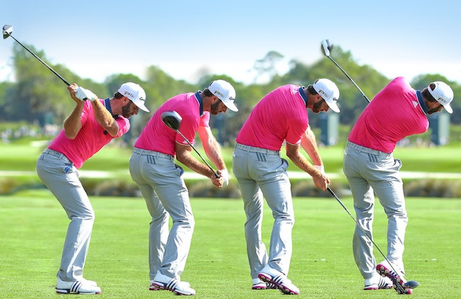 Golf tips: Power up like Dustin Johnson