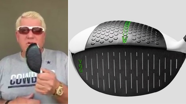 John Daly to 'grip & rip' unique new driver