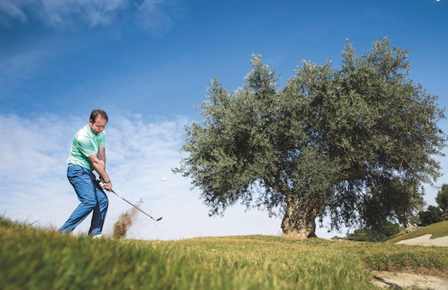 Golf tips: How to play a high lob