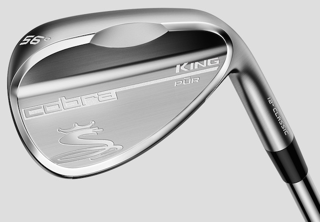 Cobra Golf King Pur wedges have 'max spin'