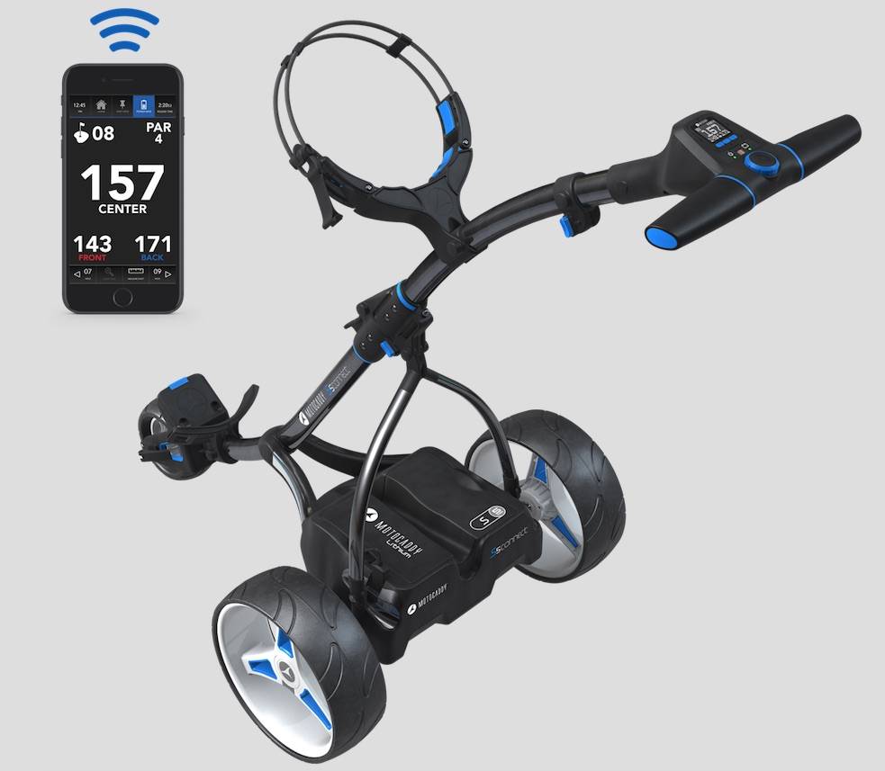 Motocaddy release 'most advanced trolley'