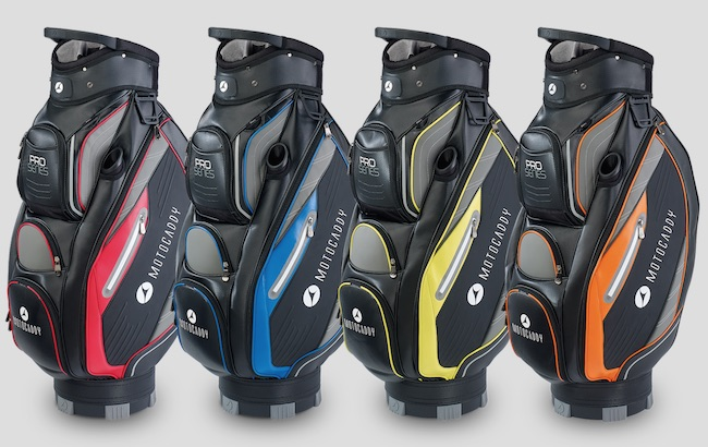 Motocaddy unveil stylish 2017 golf bags