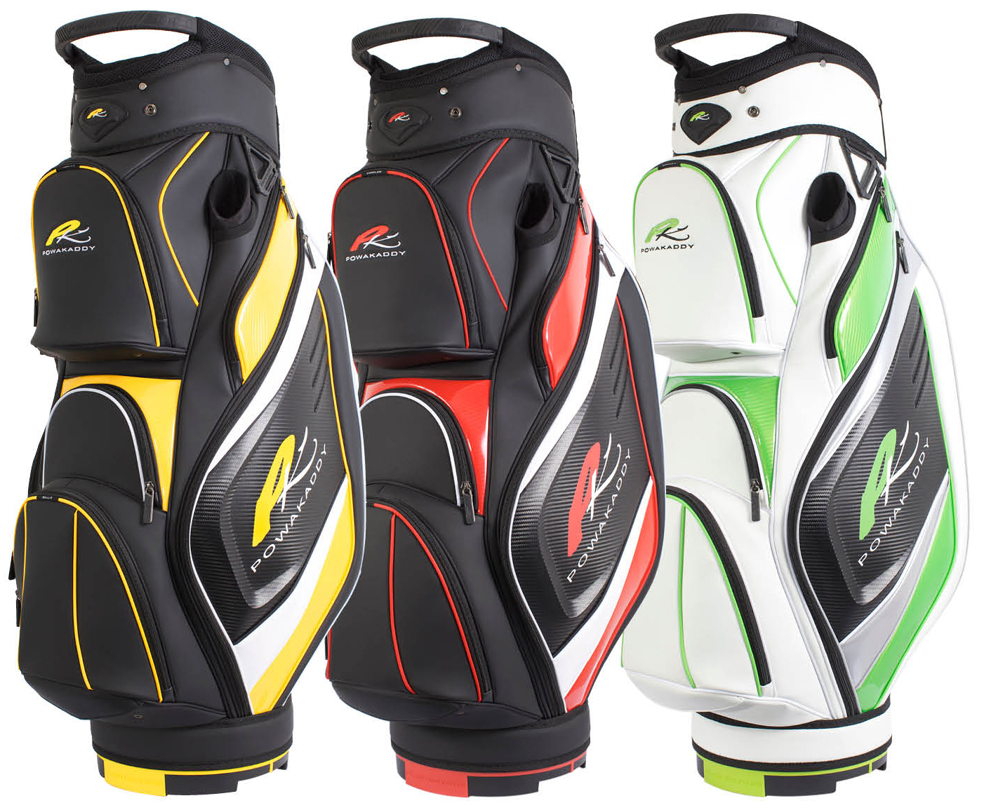 PowaKaddy unveil striking cart bag range