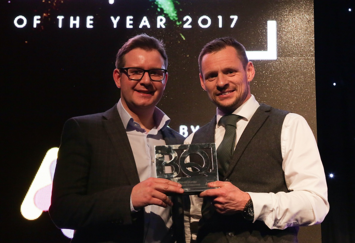 Shot Scope CEO lands top business award